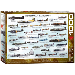 empireposter Puzzle Historische Flugzeuge des 2. Weltkriegs - 1000 Teile Puzzle im Format 68x48 cm, 1000 Puzzleteile