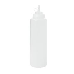 SCHNEIDER Quetschflasche, gelocht, Aus transparentem Polypropylen für den Gastrobedarf, mit 1-fach Öffnung