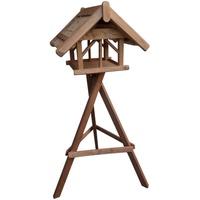Siena Garden Vogelhaus Nr.41 mit Ständer 60x70x50cm, Reetdach