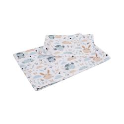 Kinderbettwäsche 100 x135 cm Babybettwäsche Kinderbettwäsche Bettwä, Divita-Mode weiß