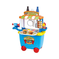 Playgo Spielgeschirr Ggourmet Burger Cart - 36 tlg. bunt