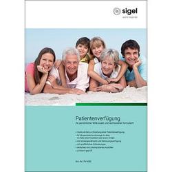 SIGEL Formulare PV450 Patientenverfügung
