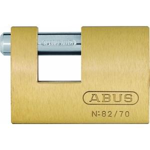 ABUS 11575 Monoblock, Messing mit 8512 Gleichschließend