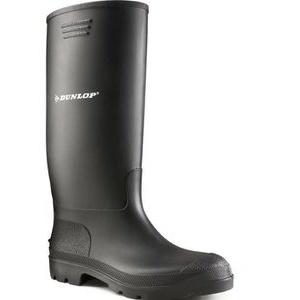 Dunlop Gummistiefel Pricemastor Unisex 380PP, Halbschaft, PVC, schwarz, Größe 43