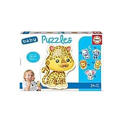Baby Puzzles Wild Animals (Kinderpuzzle)