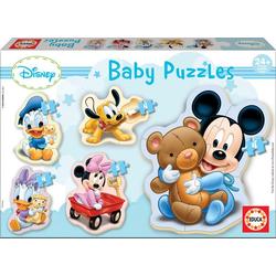 Educa Puzzle. Baby Puzzles Mickey 3/3x4/5 Teile