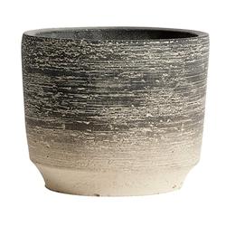 MUUBS Kanji Topf Zement 12,5 cm
