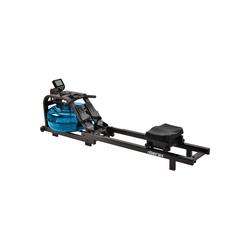 Merax Rudergerät Agon, Wasserrudergerät mit LCD-Monitor für Heimgymnastik