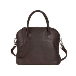 Sonnenleder Shopper Roma T, Damentasche, Ledertasche, Handtasche, süddeutsches Rindleder braun