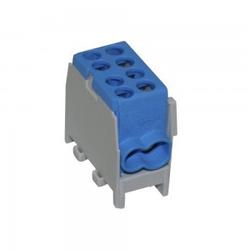 Hauptleitungs Abzweigklemme Kabelklemme 1,5-25mm2 1P VDE FVK-25-1/2 VDE BLAU 0794