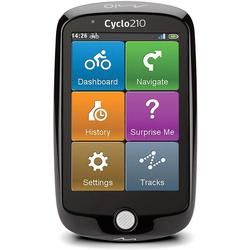 Mio Fahrradnavigationsgerät, 8,89 cm(3,5) Bildschirm Fahrrad-Navigationsgerät (Cyclo 210 Full Europe)