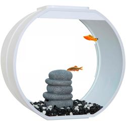 AA Aquarium Aquarium Deco O weiß