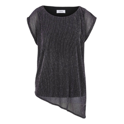 Shirt asymmetrischer Saum