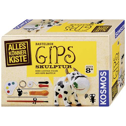 Kosmos 604066 Gips-Skulptur Basteln Bastelbox ab 8 Jahre