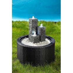 Ubbink Brunnenumrandung DecoWall Wicker 1