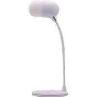 Terratec 324190 Tischleuchte Weiß