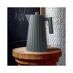 Alessi Wasserkocher Wasserkocher Plissé 1.7 L - Farbwahl, 1.70 l grau