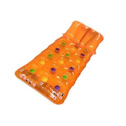 Luftmatratze Solarmatratze 188 x 71cm Orange Pool Wasser