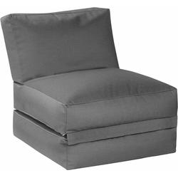 Sitting Point Sitzsack Sitzsack und Sitzliege Twist OUTSIDE, outdoorfähig grau