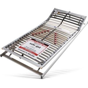 BeSports Lattenrost Duo Powerflex, (1 St.), Note: SEHR GUT, Haus&Garten-Test 2018 & extraflach mehrfarbig Lattenroste 90x200 cm nach Größen