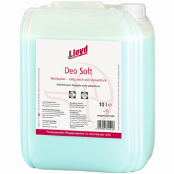 Lloyd Deo Soft Weichspüler, Für bügel- und mangelleichte Wäsche, 10 l - Kanister