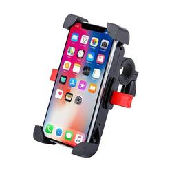 """Universal Fahrrad Handyhalterung Handyhalter Smartphone Fahrradhalterung für Smartphones Handys bis 4,6-6,5"""" Schwarz"""