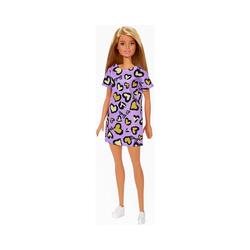 Mattel® Anziehpuppe Barbie Chic Puppe (dunkelblond) mit Kleid,