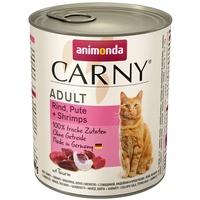 Animonda Carny Adult Rind, Pute & Shrimps 6 x 800 g