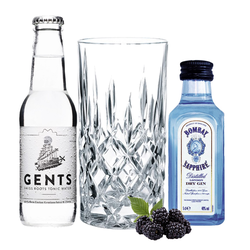 Bombay Gin Tasting Set incl. Nachtmann Glas