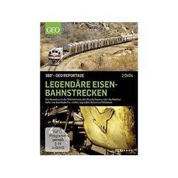 Legendäre Eisenbahnstrecken - 360° GEO Reportage DVD