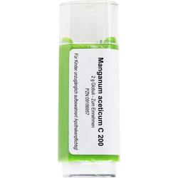 MANGANUM ACETICUM C 200 Globuli 2 g
