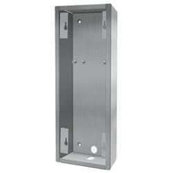 DoorBird Edelstahl-Aufputzgehäuse für DoorBird D2102V und D2103V