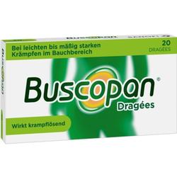 Buscopan Dragees bei Bauchkrämpfen