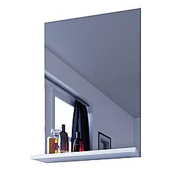 VCM Spiegel Badspiegel Wandspiegel mit Ablage Badmöbel