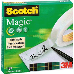 3M SCOTCH® Magic™ 810 7100027117 Klebeband Scotch® Magic™ 810 Matt (L x B) 66m x 19mm 66m