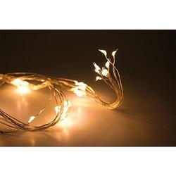 EGB LED-Micro-Bündel-Lichterkette 64 ww LED innen