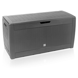 Deuba Auflagenbox, UV-beständig grau 48 cm x 60 cm x 119 cm