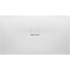 Villeroy & Boch Duschwanne Squaro Infinity 120 × 80 × 4 cm Quaryl® auf Maß