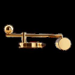 De Stijl DS 28 Klavierleuchte - Messing poliert und zaponiert