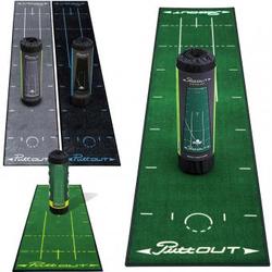 PuttOUT Golf Puttingmatte 2,4 x 0,50m