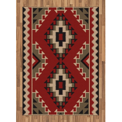 Teppich Flachgewebe Deko-Teppiche für das Wohn-,Schlaf-, und Essenszimmer, Abakuhaus, rechteckig, afghanisch Afghan Stil Motive 160 cm x 230 cm