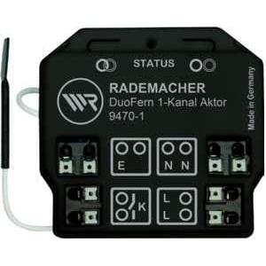 Rademacher 9470-1 RolloHomeControl DuoFern Universal-Aktor 1-Kanal (35140261), bis zu 3600 W