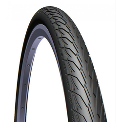 Mitas Fahrradreifen Reifen Mitas Flash V 66 28x1 3/8' 37-622 schwarz