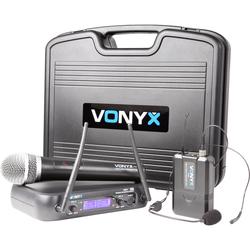 Vonyx WM73C (Set mit Hand- und Headset-Mikrofon)
