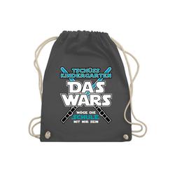 Shirtracer Turnbeutel Das Wars Kindergarten Blau - Turnbeutel