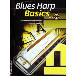 Blues Harp Basics + CD