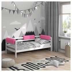 Bettumrandung Bettkantenschutz Kinderbett Kantenschutz rosa Babybett VitaliSpa® rosa