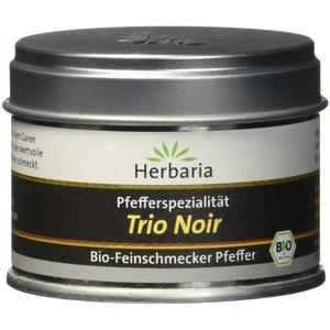 """Herbaria Schwarzer Pfeffer """"Trio Noir"""" S-Dose Bio, 1er Pack (1 x 30 g)"""