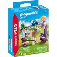 Playmobil Special Plus Kinder mit Kälbchen (70155)