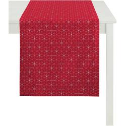 APELT Tischläufer 3008 Christmas Elegance (1-tlg) rot